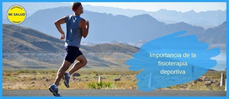 importancia de la fisioterapia deportiva
