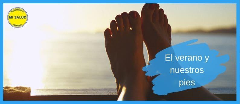 ¿Cómo afecta el calor a nuestros pies?